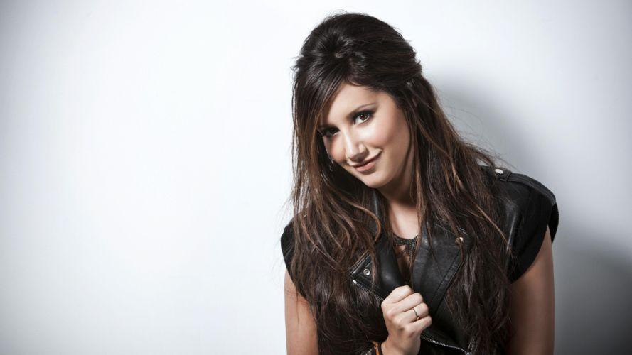 brunettes women actress celebrity Ashley Tisdale singers wallpaper