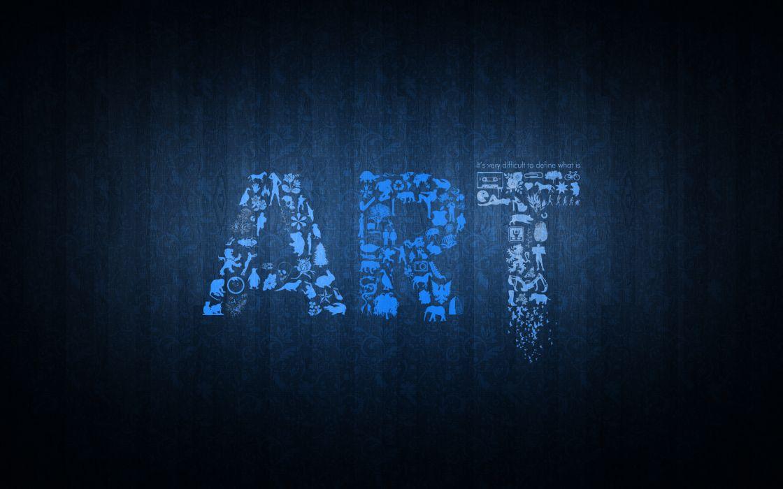 typography artwork wallpaper