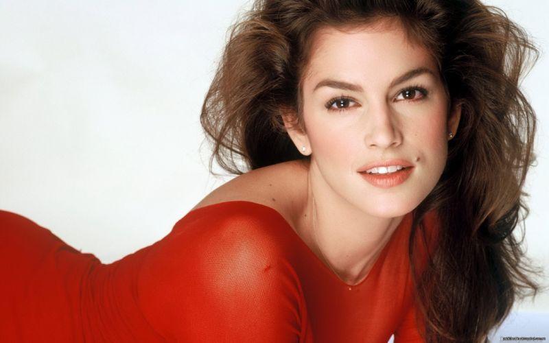 brunettes women models Cindy Crawford wallpaper