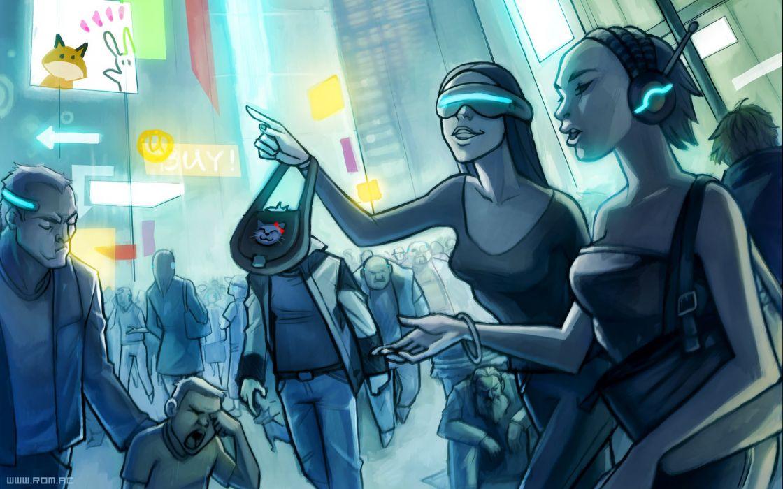 paintings futuristic fantasy art digital art science fiction artwork Tomorrow airbrushed wallpaper
