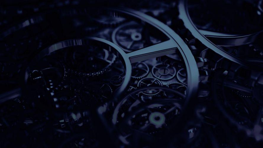 steampunk mechanical gears f wallpaper