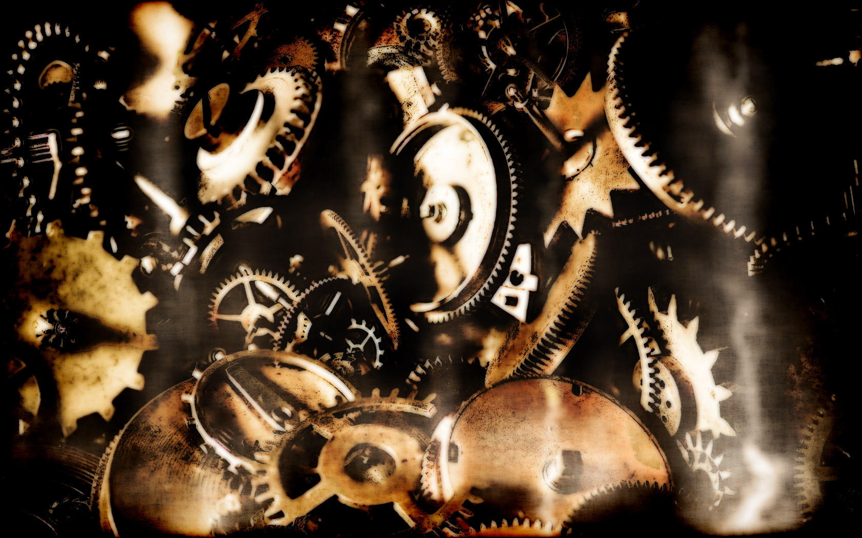 steampunk cogs abstract fantasy - photo #38