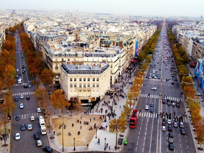 Paris France buildings cities wallpaper