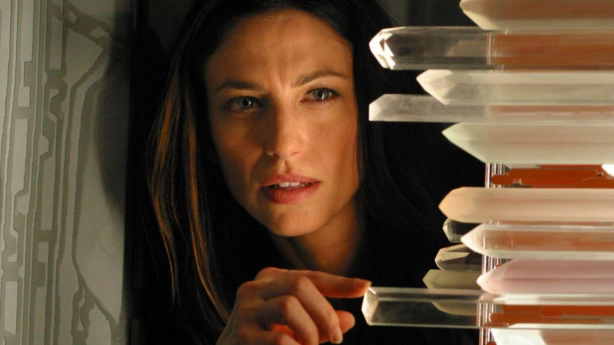 crystals Stargate SG-1 science fiction Claudia Black wallpaper