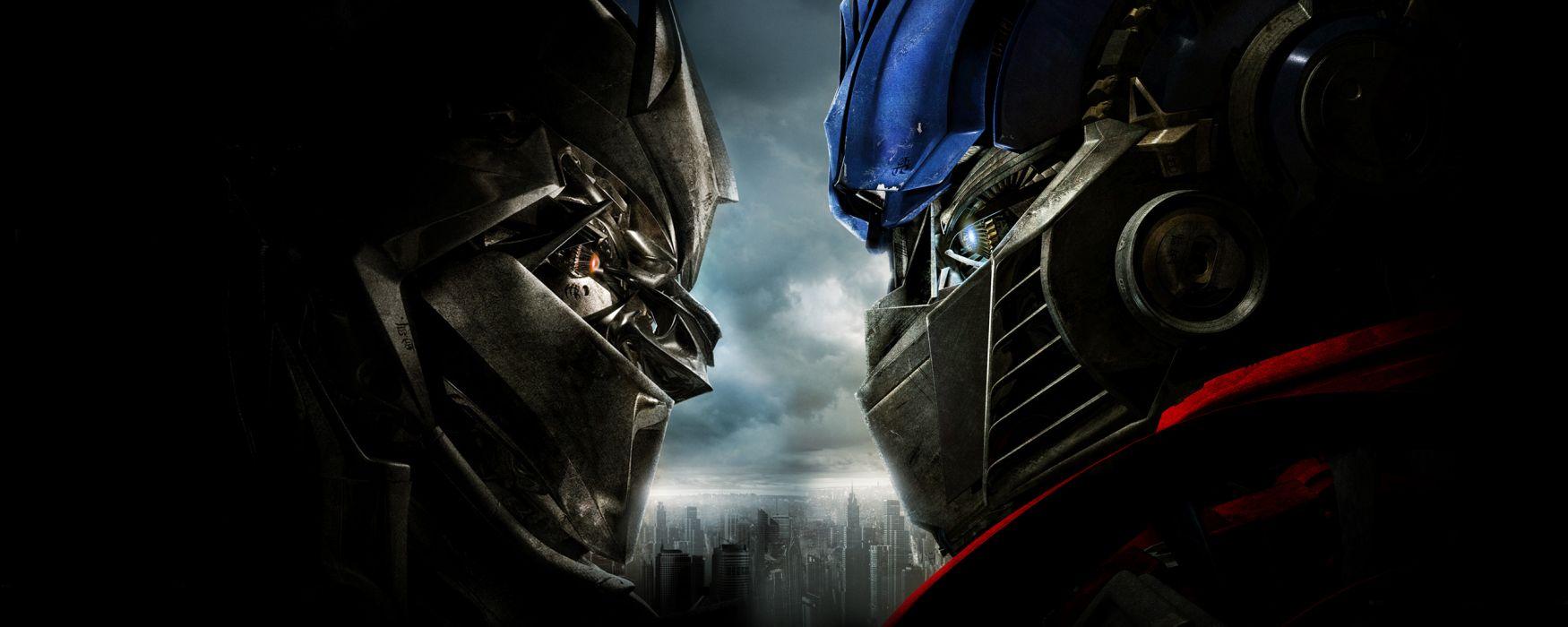 Optimus Prime Megatron Transformers 2 - Revenge of the Fallen wallpaper