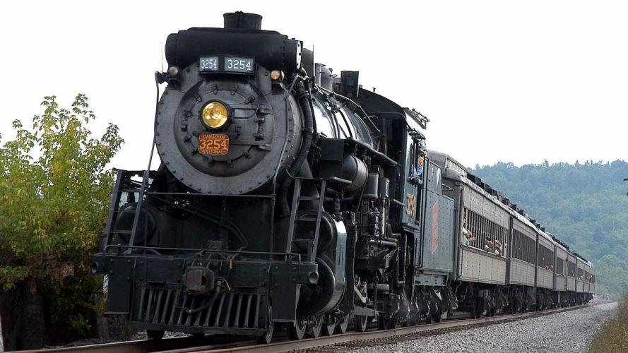trains locomotives widescreen wallpaper