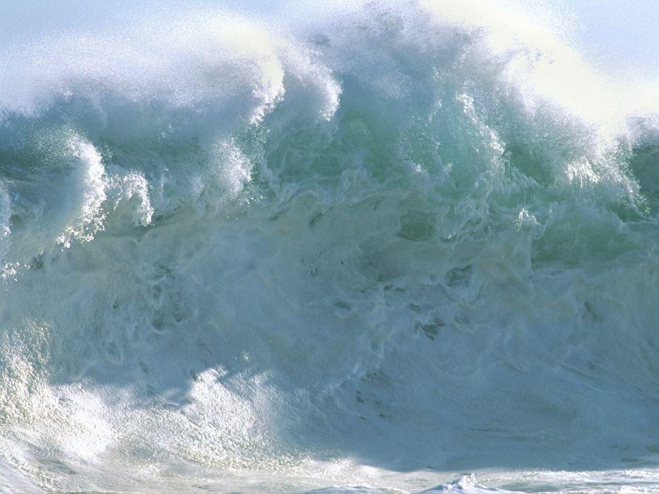 waves sea wallpaper
