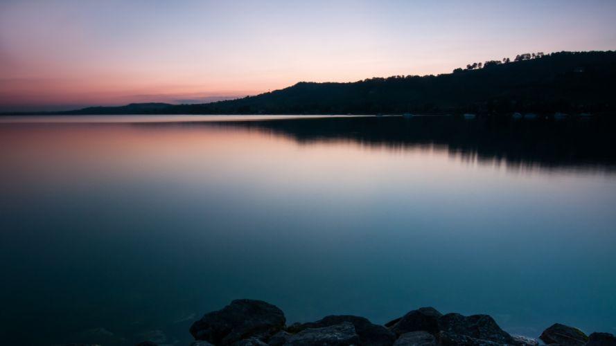 lakes murtensee lake murten wallpaper