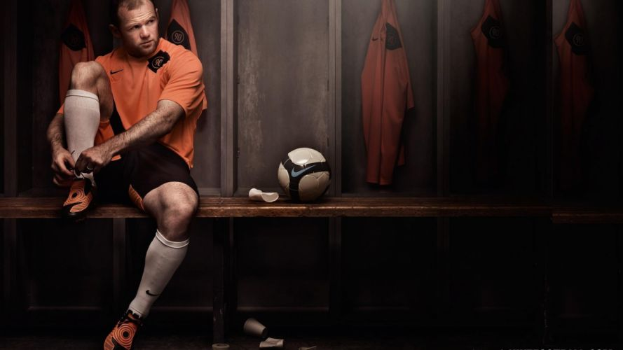 Wayne Rooney Manchester United football stars wallpaper