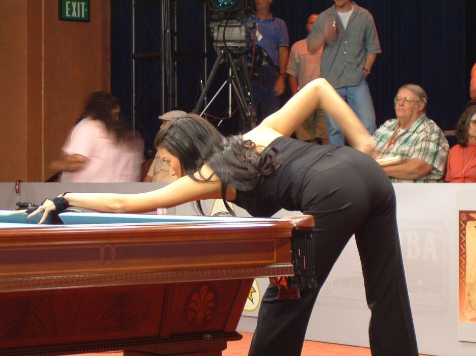 billiards tables Jeanette Lee wallpaper