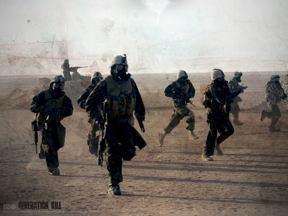 soldiers Iraq generation kill wallpaper