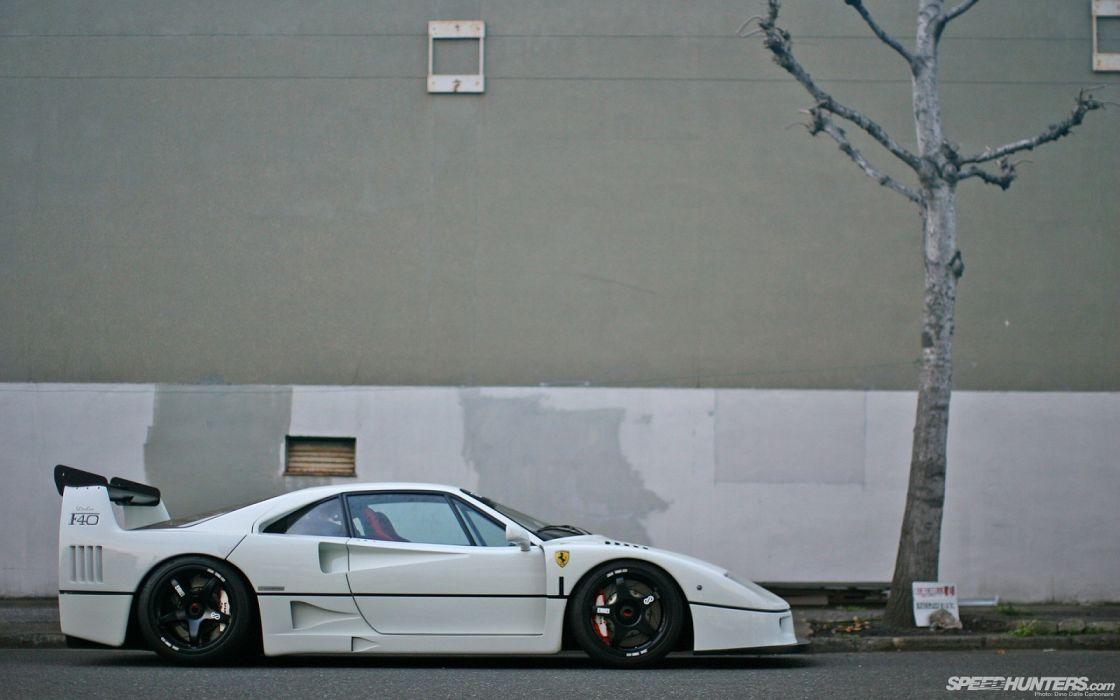 cars Ferrari F40 wallpaper