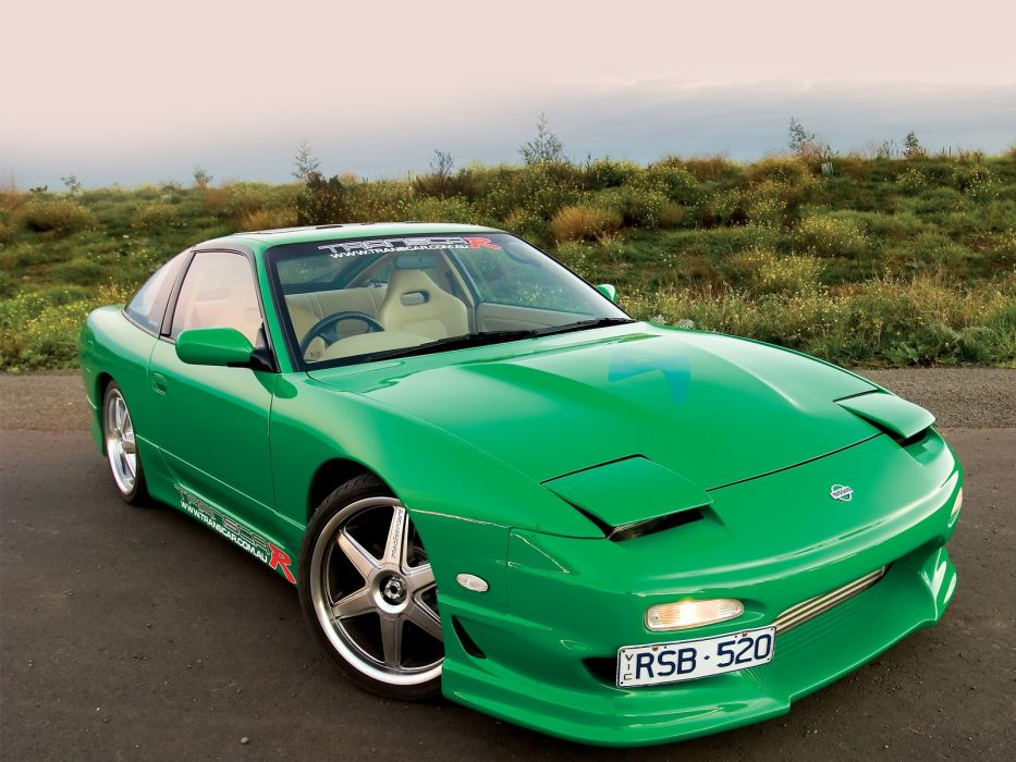 cars Nissan 200sx S13 wallpaper