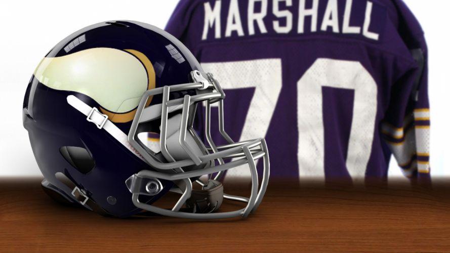revolution Vikings American Football marshall NFL Minnesota Vikings wallpaper