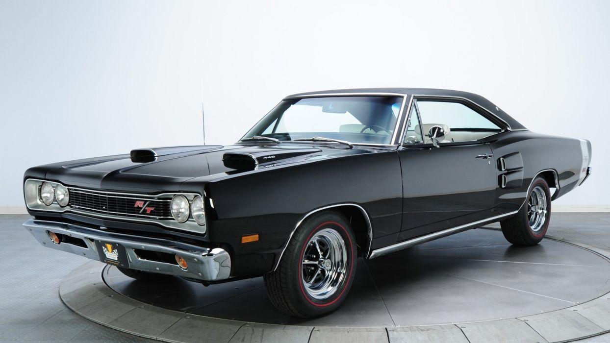 Cars Dodge Coronet R T Black Cars Classic Cars Muscle Car Wallpaper