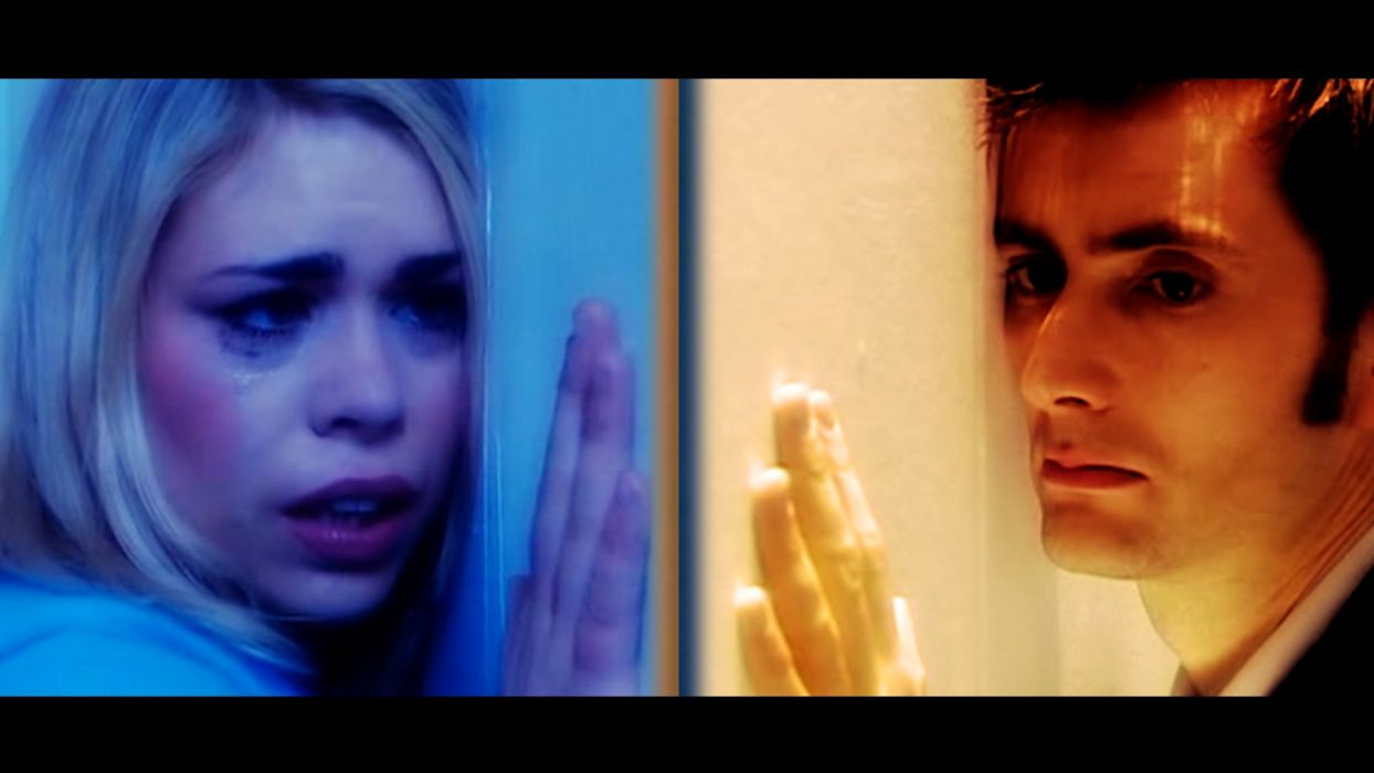 Rose Tyler David Tennant Billie Piper Doctor Who Tenth Doctor