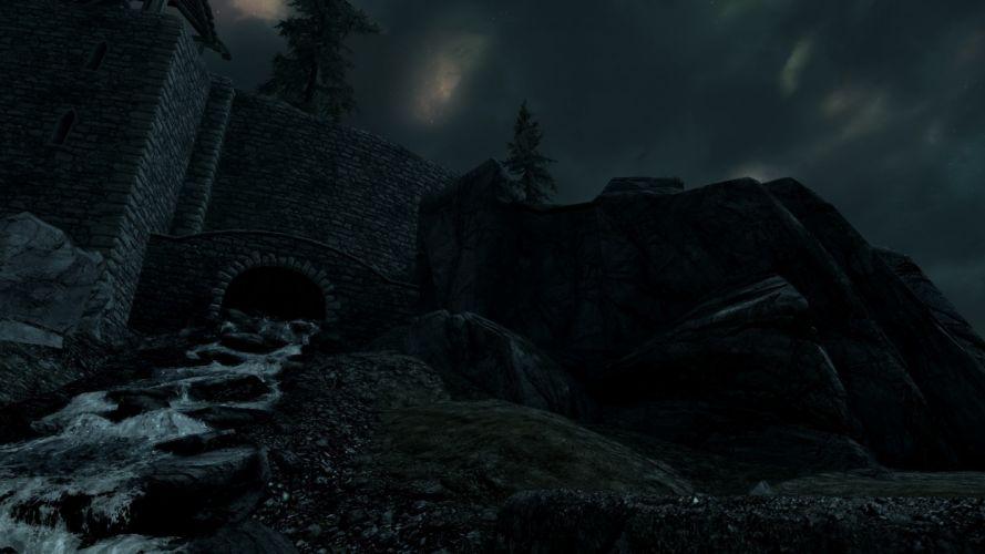 water The Elder Scrolls V: Skyrim wallpaper