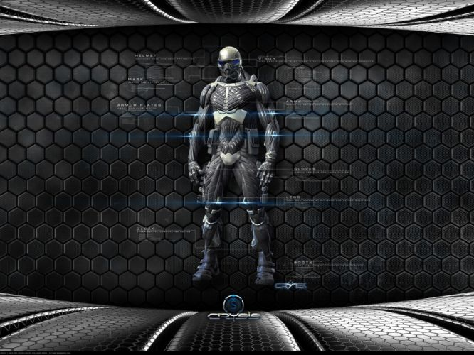 abstract Crysis nanosuit wallpaper