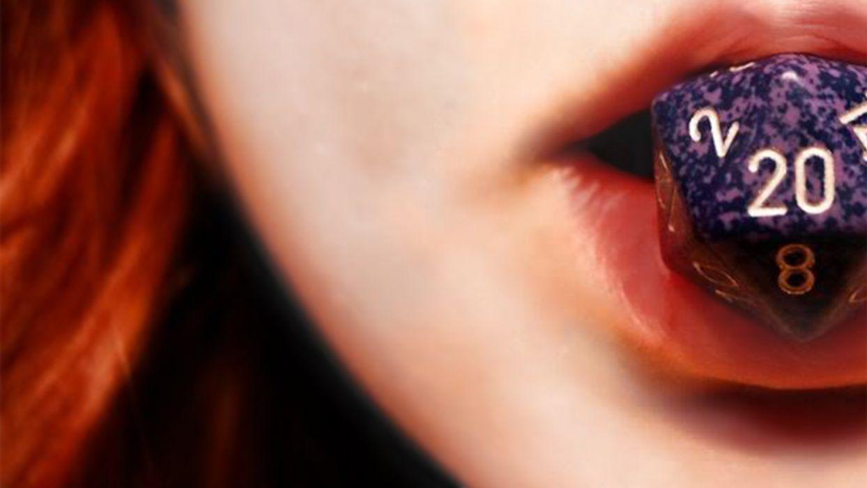 redheads lips D20 wallpaper