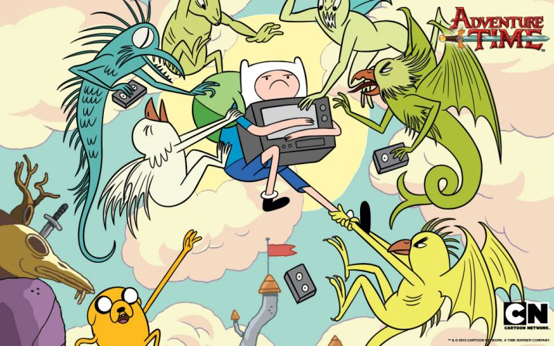 Adventure Time with Finn and Jake Finn the Human wallpaper