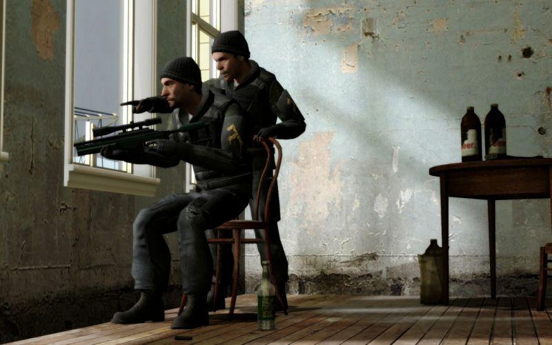 video games Half-Life snipers wallpaper