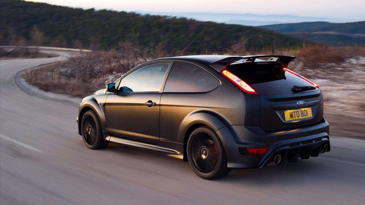 cars Ford depth of field Ford Focus RS500 wallpaper