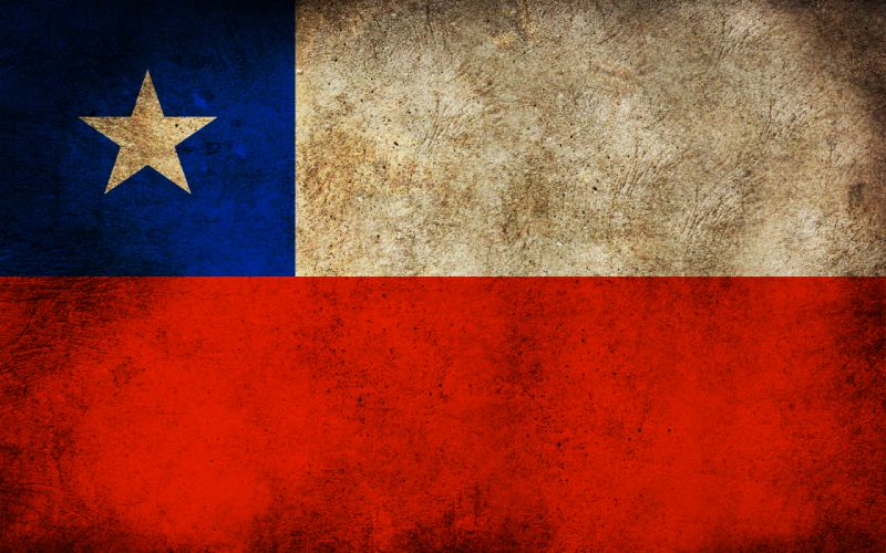 Chile grunge flags wallpaper