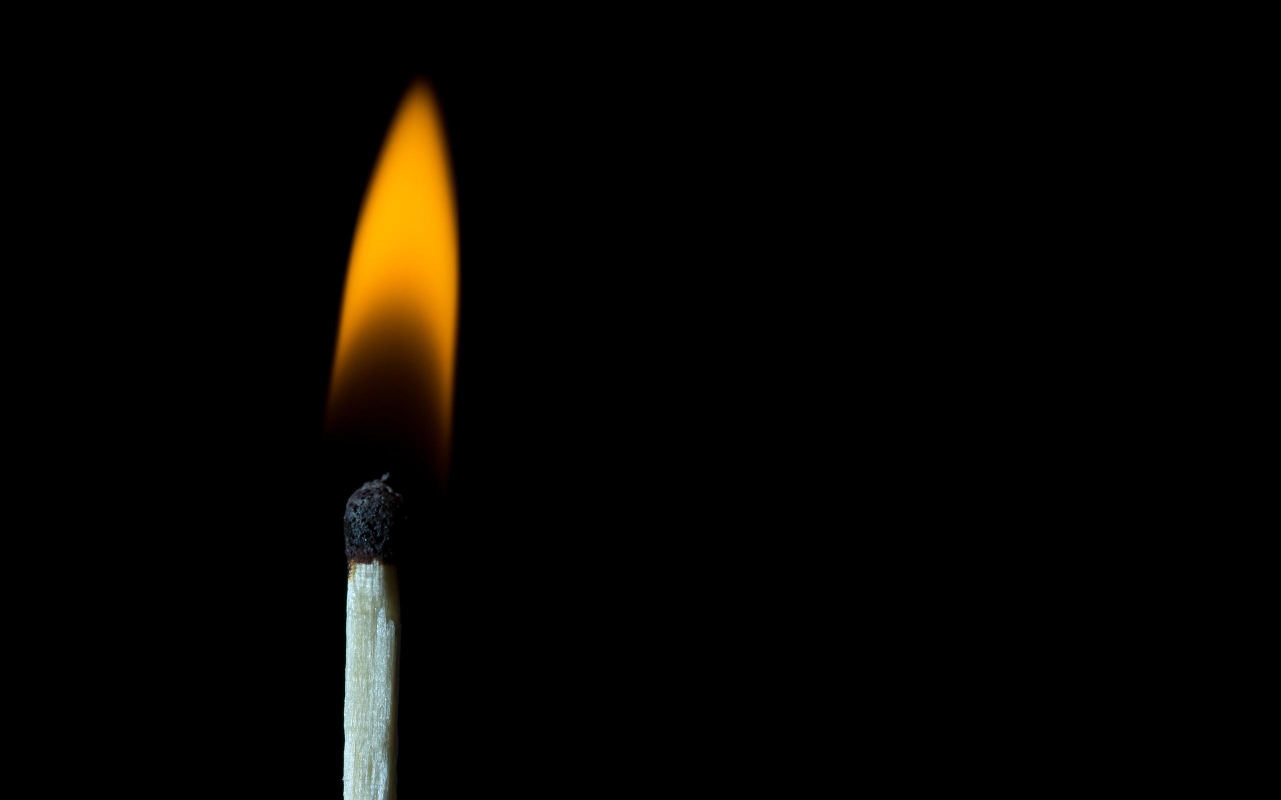 Fire Black Background Wallpaper 2560x1600 62852 Wallpaperup