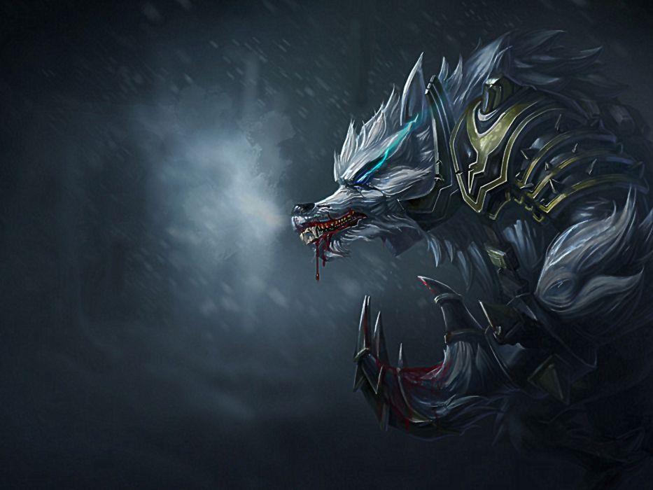League of Legends Warwick wallpaper