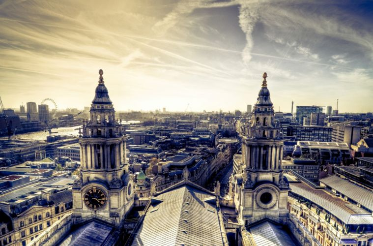 cityscapes Europe church skyscapes wallpaper