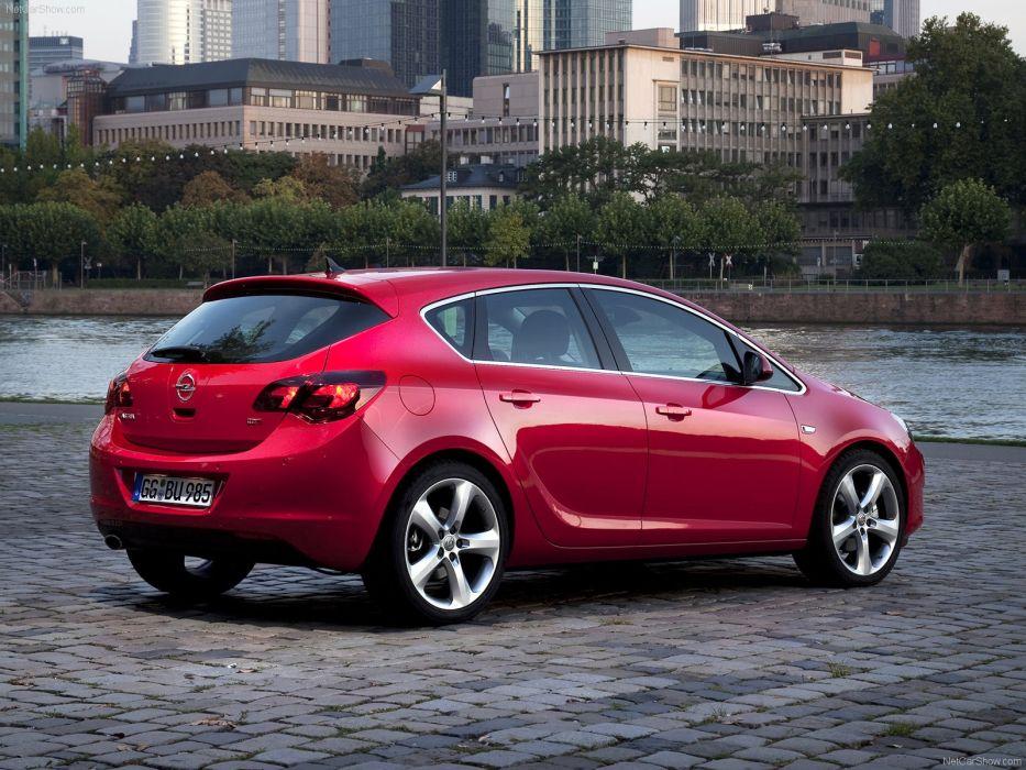 cars Opel Astra wallpaper