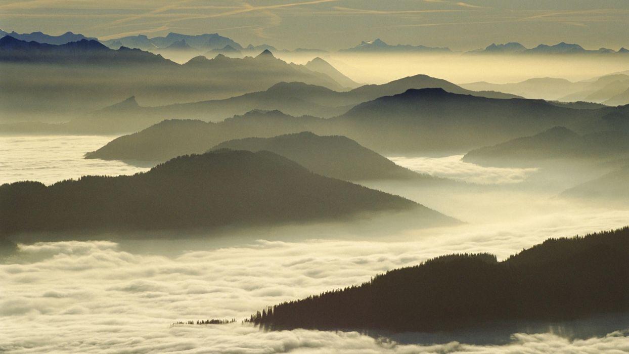 Switzerland Lucerne Mount wallpaper