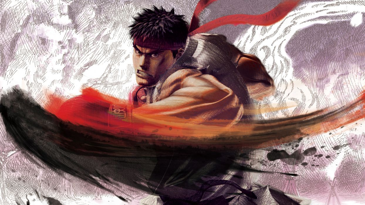Street Fighter Ryu wallpaper