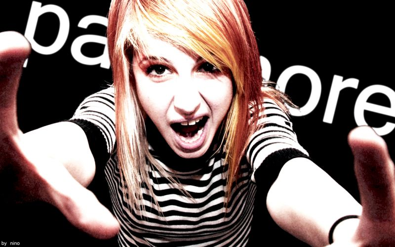 Hayley Williams Paramore music celebrity singers wallpaper