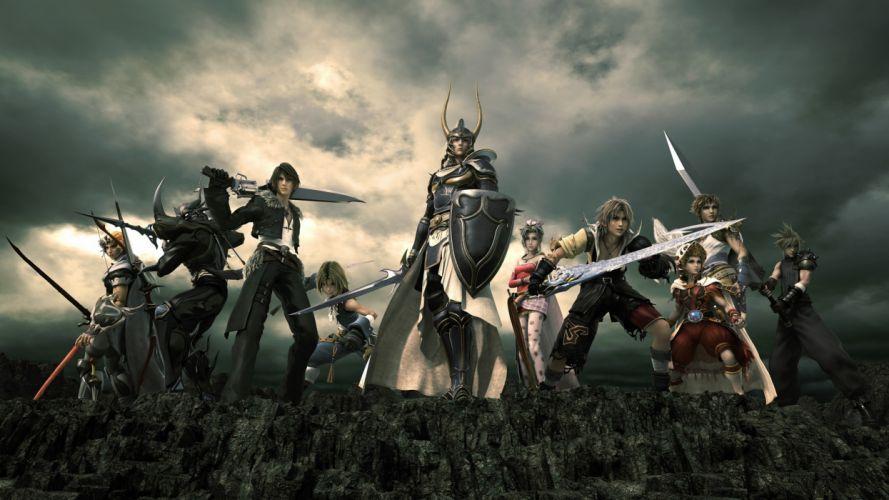 Final Fantasy dissidia wallpaper