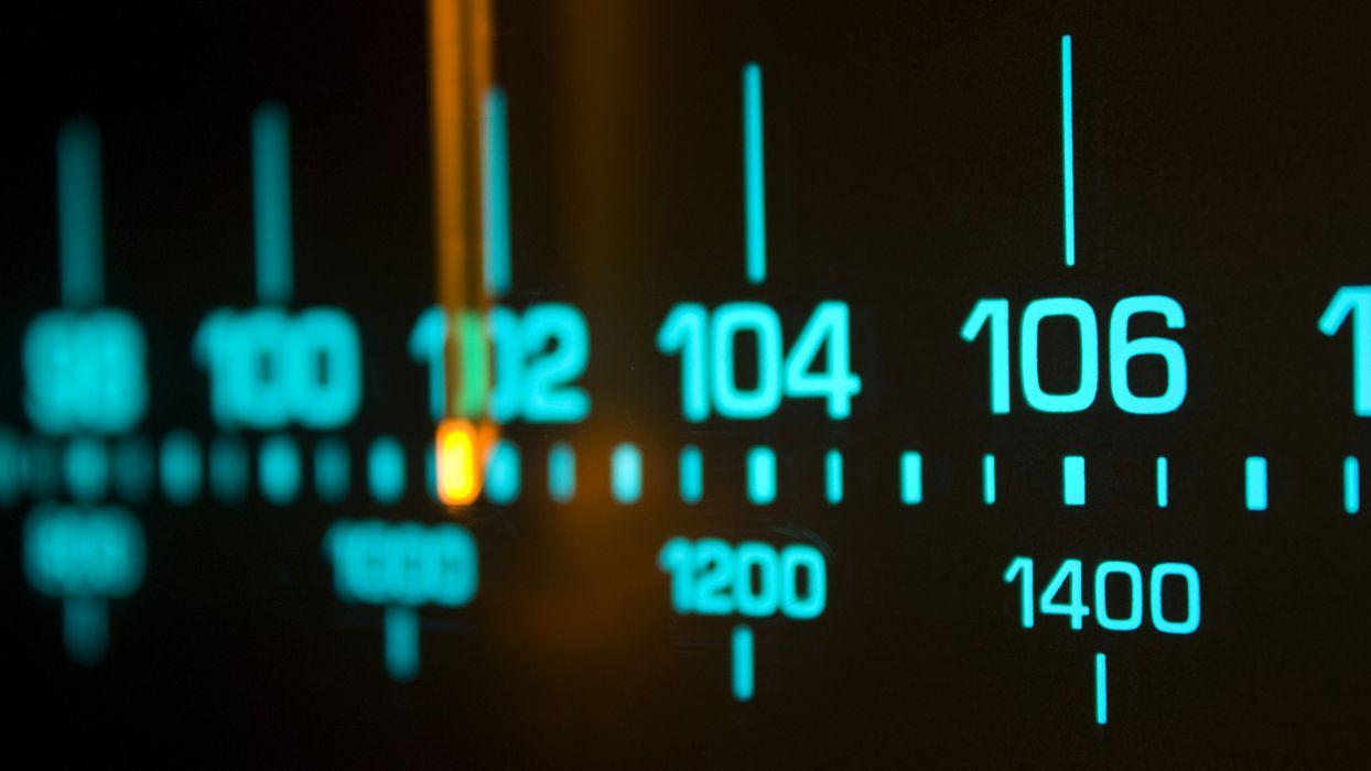 radio dial analog wallpaper