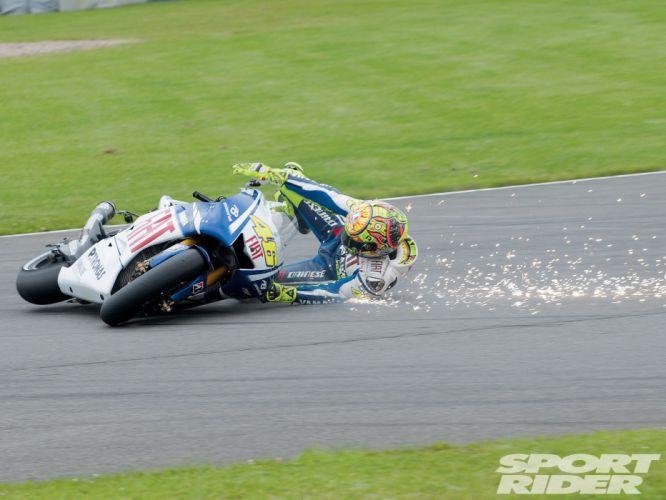 crash bikes vehicles Moto GP motorbikes wallpaper