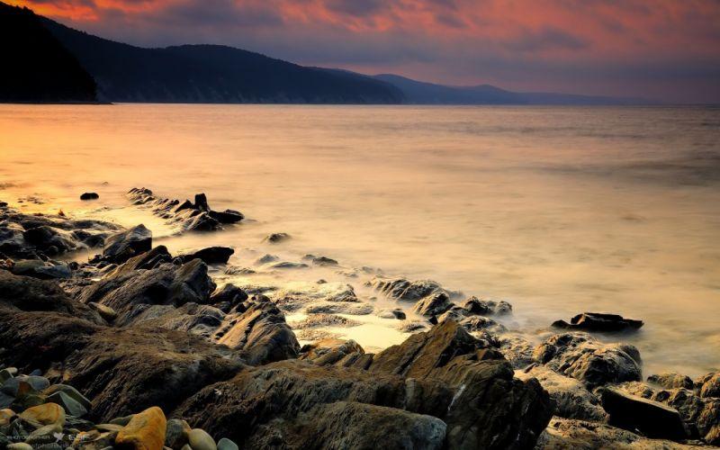 coast seascapes wallpaper