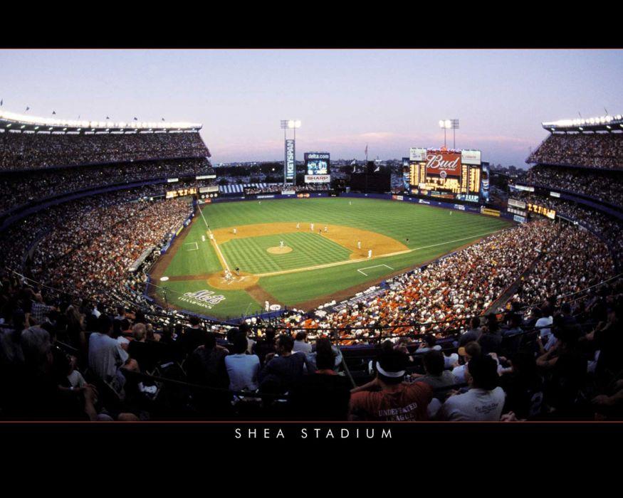 baseball stadium New York Mets wallpaper