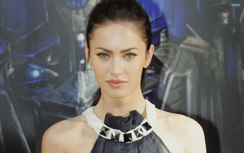 brunettes women Megan Fox actress models Hollywood wallpaper