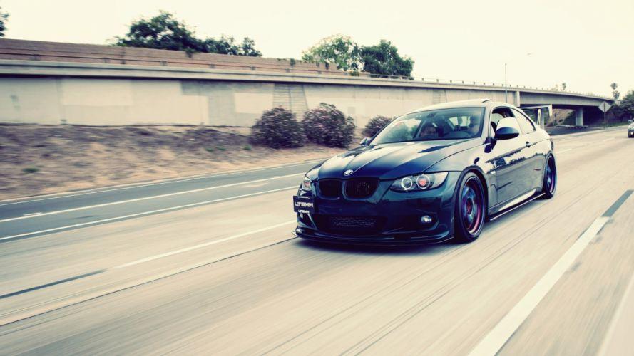 BMW cars roads BMW M3 wallpaper