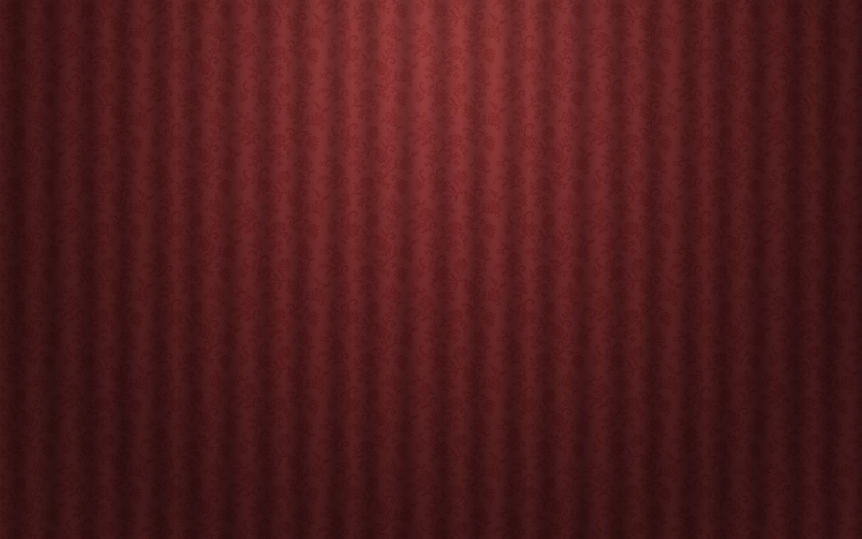 Red Textures Curtains Floral Wallpaper 1680x1050 63189