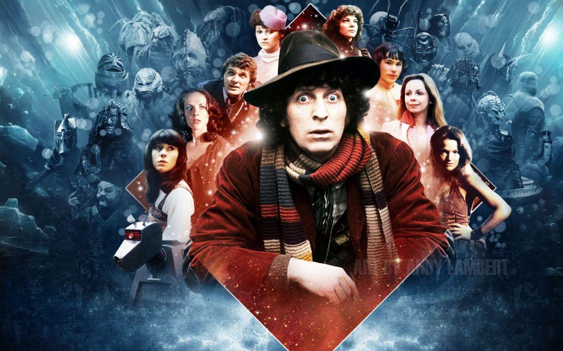 Fourth Doctor Tom Baker Doctor Who wallpaper
