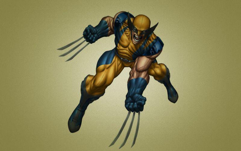 X-Men Wolverine Marvel Comics characters wallpaper