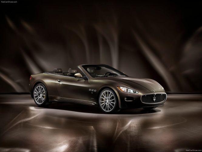 cars Maserati vehicles Maserati GranCabrio wallpaper
