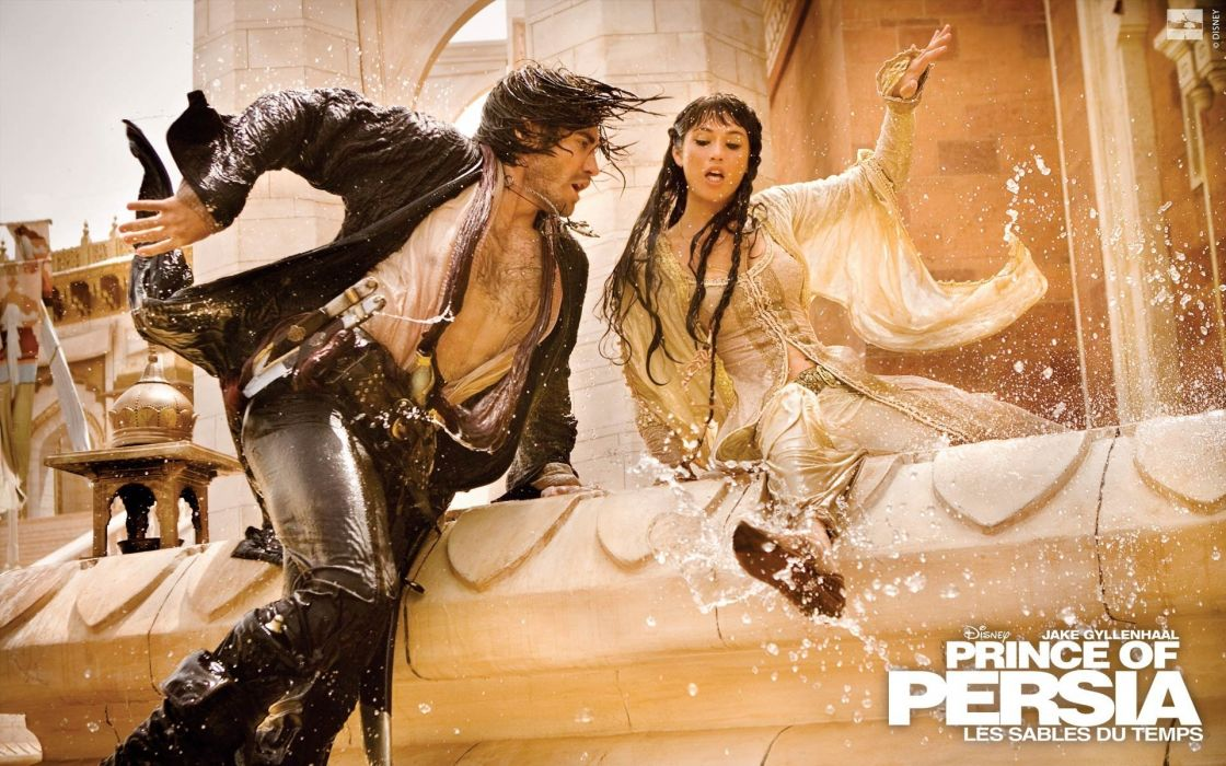 movies Prince of Persia Gemma Arterton Jake Gyllenhaal wallpaper