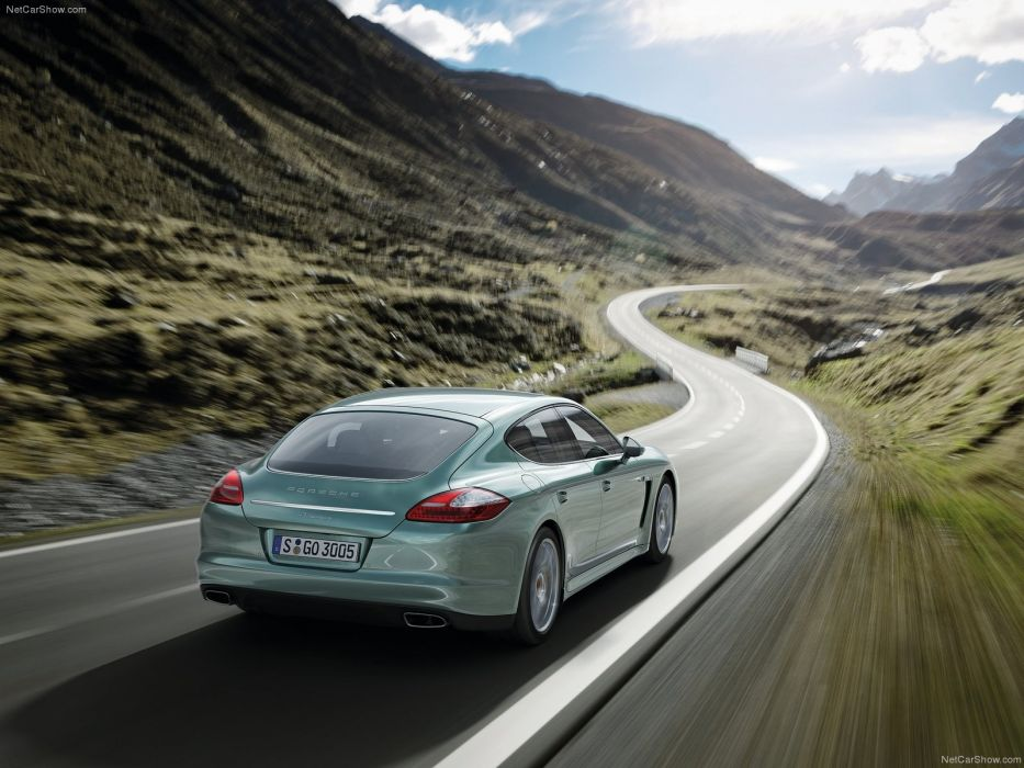 cars diesel Porsche Panamera wallpaper