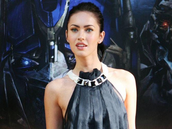 brunettes women Megan Fox actress celebrity wallpaper