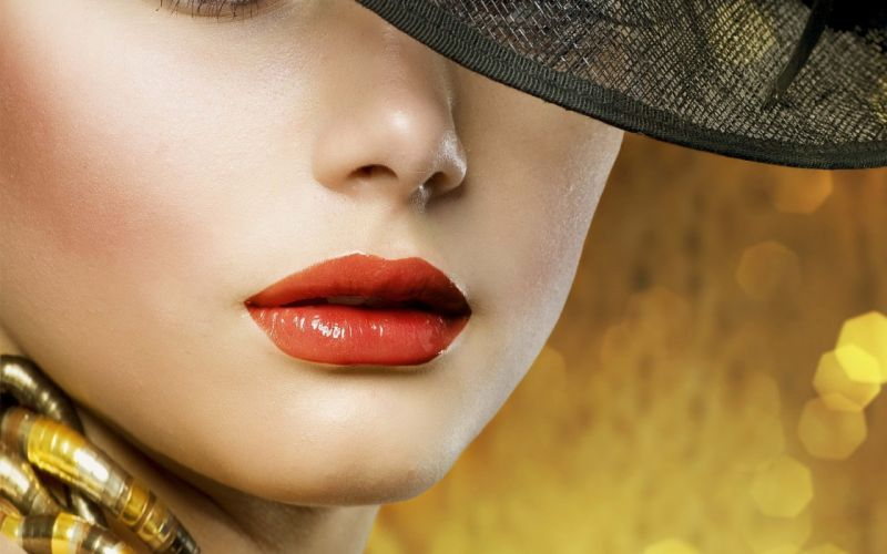 women lips wallpaper