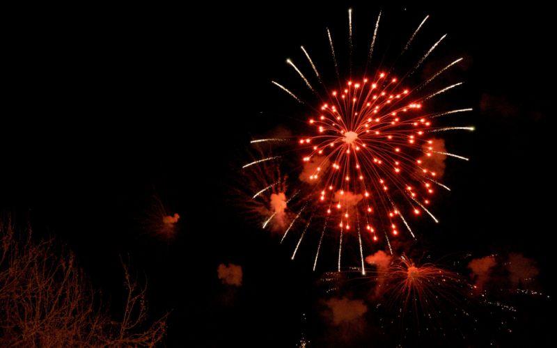 fire fireworks Spain Valencia wallpaper